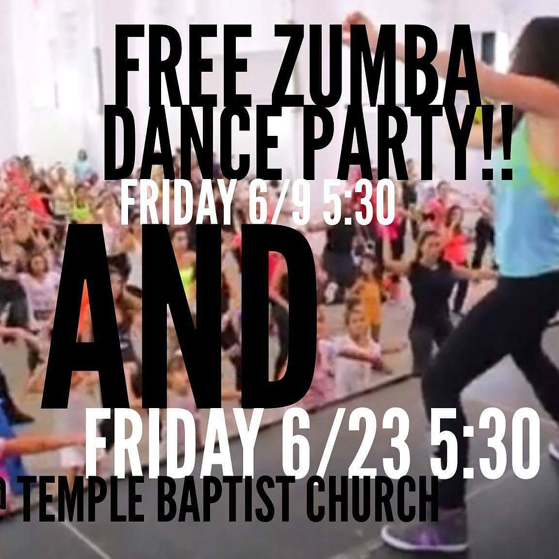 FREE Zumba Dance Party Event Page