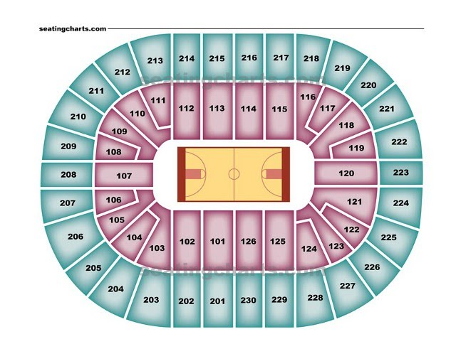 pistons seat chart: Detroit pistons seating chart pistonsseatingchart com