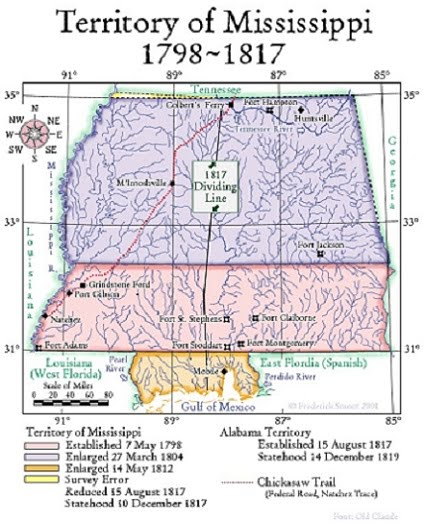 Mississippi Area History Before Stone County MS Was Formed In - Counties in ms map