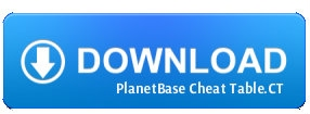planetbase cheat table