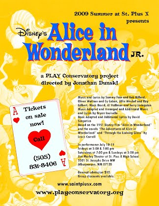 Disney's Alice in Wonderland Jr  - PLAY Conservatory