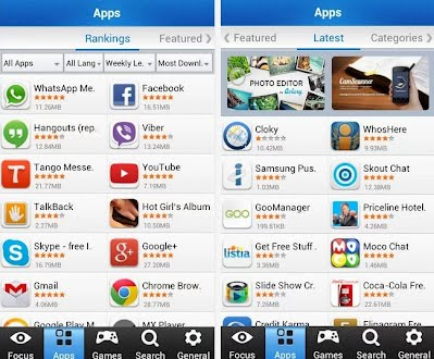 The app market Mobomarket launches the new version - Play