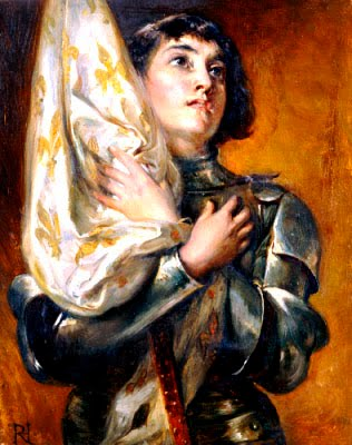St Joan of Arc, pray for us.