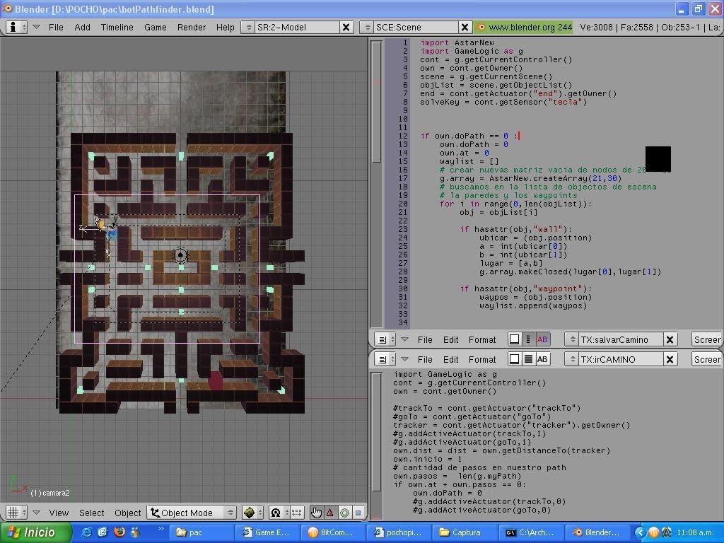 Python ai games system nodes bots waypoints pathfinder astar you can download the blende file httpfileslefrontbots1zipfileinfoml or here httpsavefilefiles887430 baditri Images