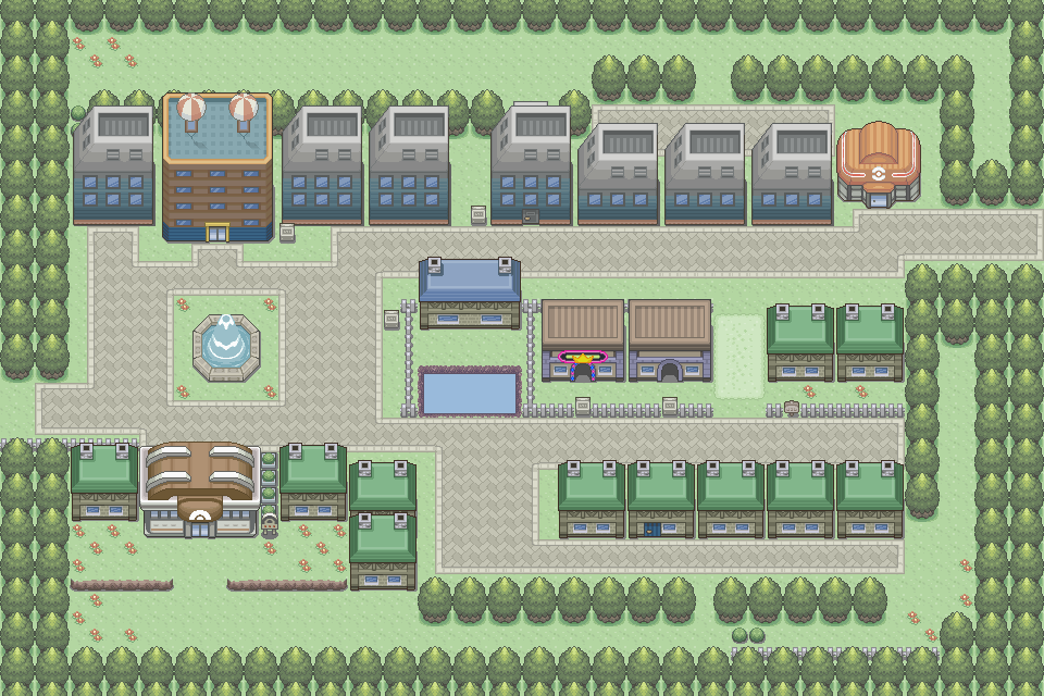 how to get to celadon city in project pokemon