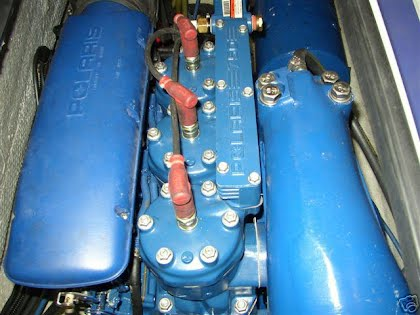 Polaris Fuji engine (blue painted engine) - Polaris PWC Knowledge