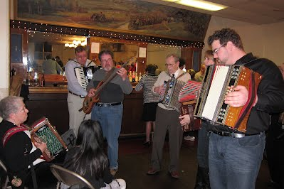 2/2012 San Francisco Slovene Hall Jammers with Mark Habbat & Michael Kramer