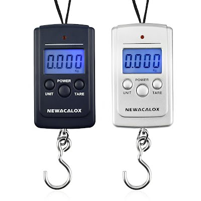 Portable Digital Luggage Scale with Weighing Hook Free Shipping