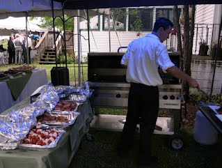 BBQist in Action at the Portage Inn