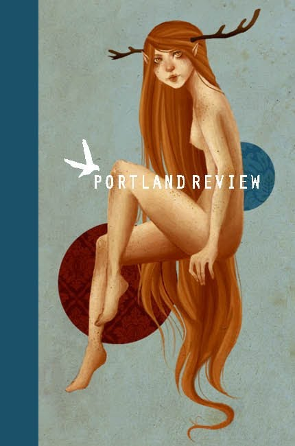 Cover Art for Portland Review: Winter 2013 by Paige Einstein