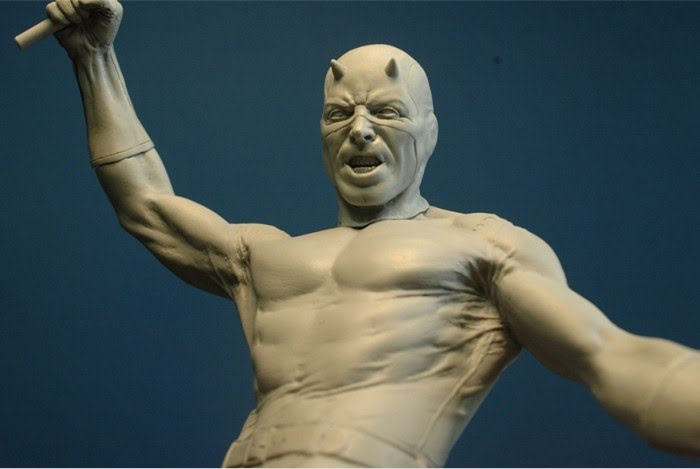 daredevil sculpture