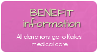 Prayers for Kate Benefit Info