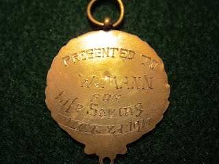 1917's BRITISH BOY SCOUTS BRASS MEDAL OF MERIT FOR LIFE