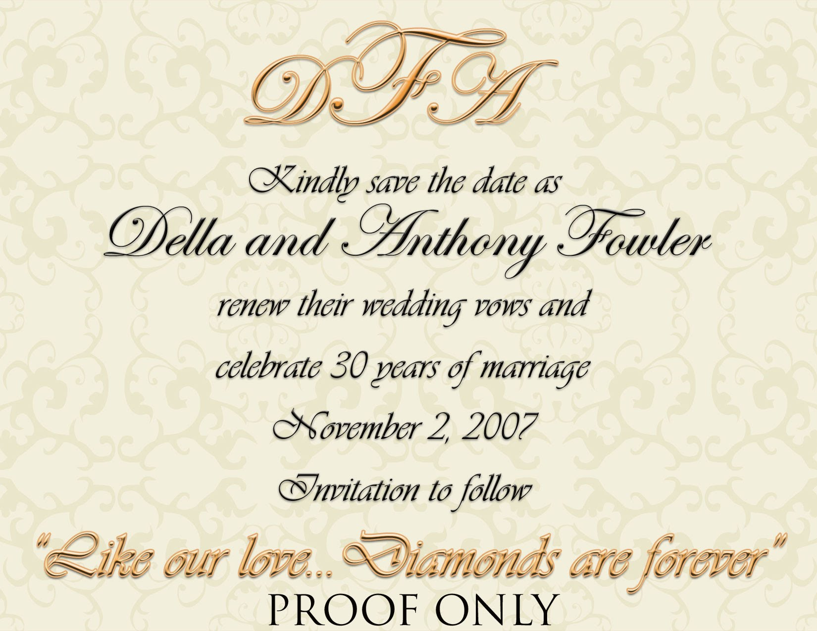 Renewing Wedding Vows Invitations as best invitations sample