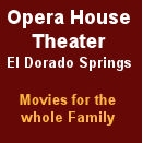 Opera House Theater- El Dorado Springs, MO