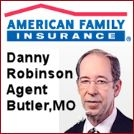 American Family Insurance butler, MO Danny Robinson Agent