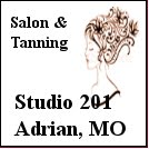 Studio 201, Salon and Tanning, Adrian, MO