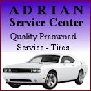 Adrain Service Center, Quality Preowned Vehicles, Tires, Service