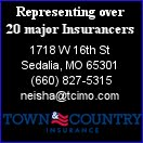 Town and Country Insurance Sedalia, MO