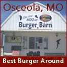 On the Moo-ve Burger Barn, Osceola, MO