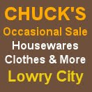 Chuck;s Occasional Sale