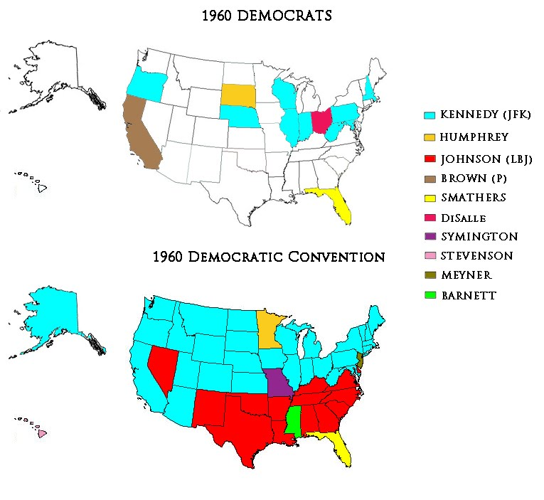 Presidential Primaries and Convention Democrats 1960