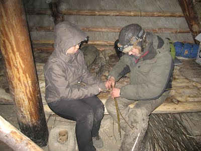 PHOTOS OF THE 3RD CAMP: - PRIMITIVE SURVIVING PROJECT (stone