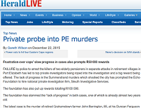 Private probe into PE murders