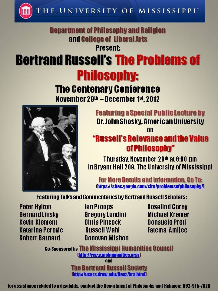 russell the value of philosophy