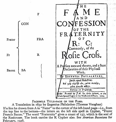 Francis Bacon, the Royal Society, and the Rosicrucians: A