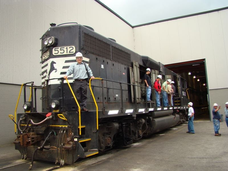 Norfolk-Southern Locomotive Shop