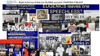 Fascism Eugenics Profiteering IRAQ SUMMIT CHINA Churchill Chang Kai Sheck Carry on actor Parliament Police George Lees