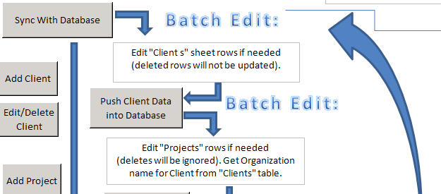 Project Management Excel Edit