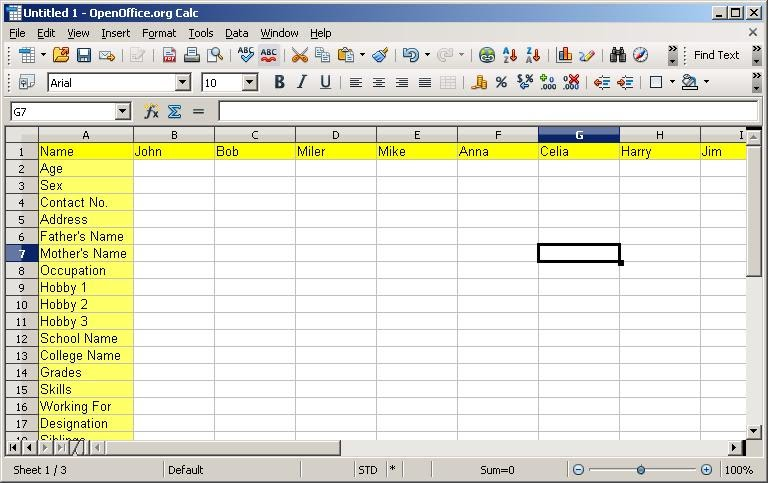 Freezing rows and Columns in OpenOffice Calc/LibreOffice Calc ...