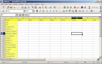 Freezing rows and Columns in OpenOffice Calc/LibreOffice ...