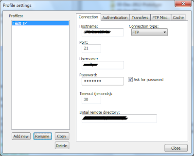 How to access FTP Server using Notepad++ - Project Code Bank