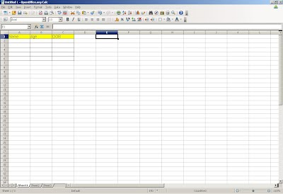 How to share Open Office Spreadsheet with other users