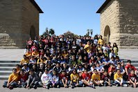 Bishop School 4th graders on a visit