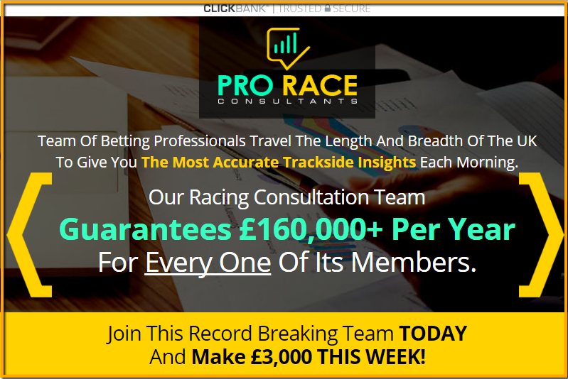 Pro Race Consultants Review - Does It Work Or Scam?