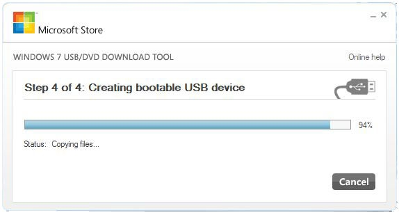 windows 7 usb bootable