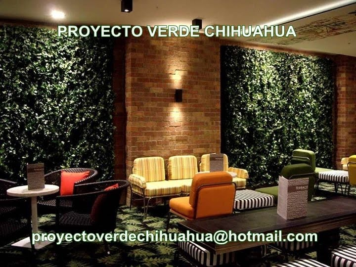 Follaje artificial proyectoverdechihuahua for Muros verdes para interiores