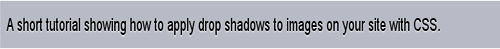 Drop Shadows with CSS
