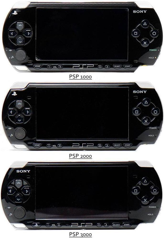 Psp 1000 Psp 2000 : Отличия sony psp playstation portable fat