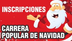 INSCRIPCIONES PARA LA XXIII CARRERA POPULAR DE NAVIDAD
