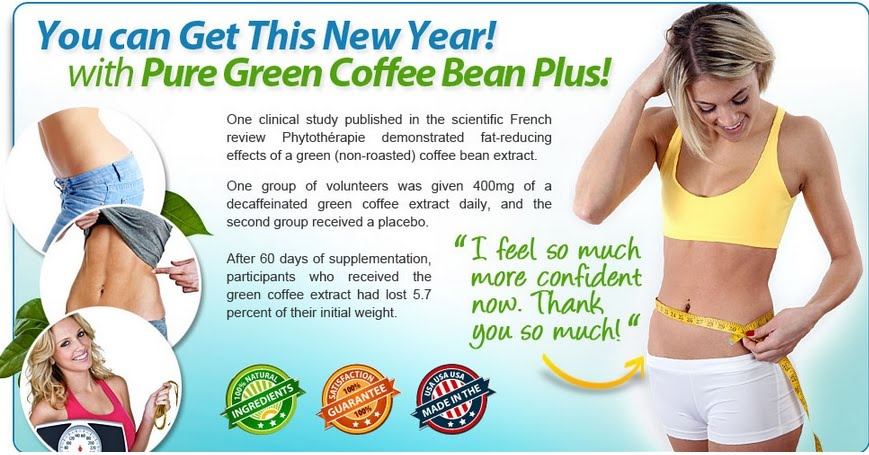 Pure green coffee bean plus does it work