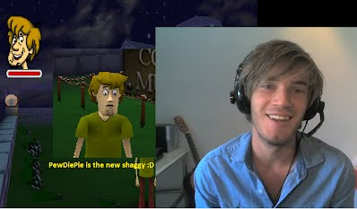 PewDiePie is the new shaggy :D