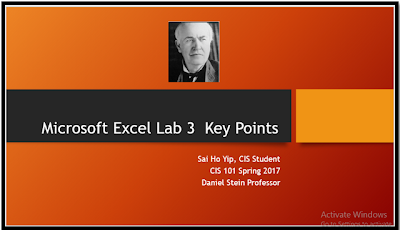 Excel Lab 3 - qccsyip
