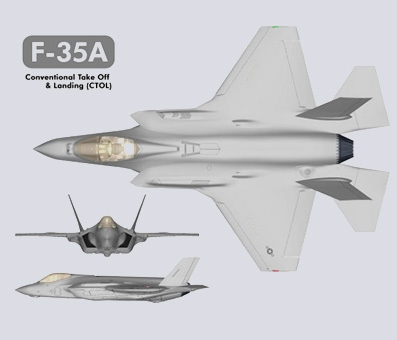F-35A Lightning II 3 views