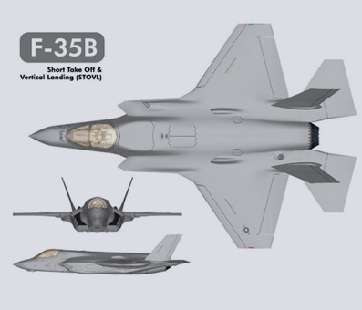 F-35B Lightning II 3 views