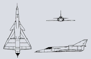 IAI Kfir 3-views